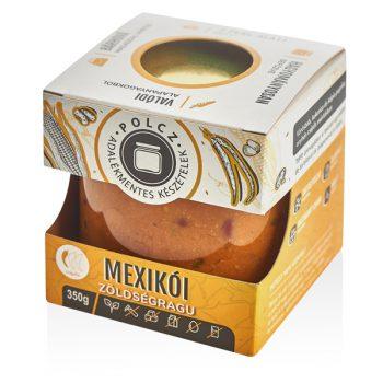 Enyhén csípős, vegán mexikói zöldségragu krémes alapszósszal és ínycsiklandó zöldségekkel